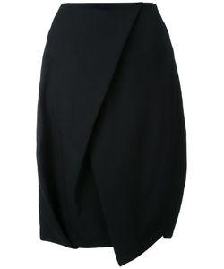 ENFÖLD | Enföld Tulip Shape Midi Skirt 38 Polyester/Wool/Paper Yarn