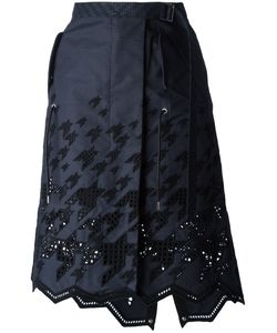 Sacai | Graphic Broderie Skirt Size 2