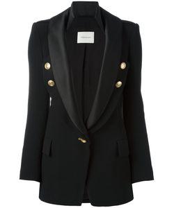 Pierre Balmain | One Button Blazer 34 Viscose/Spandex/Elastane/Polyester