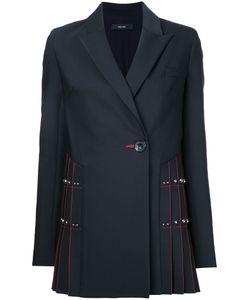 Ellery | Contrast Blazer 8 Silk/Polyester/Wool/Spandex/Elastane