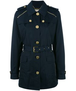 Michael Michael Kors | Zipped Shoulder Coat Size Large