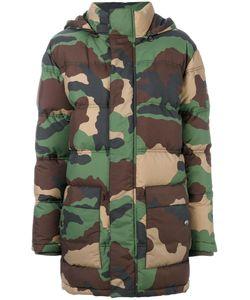 Moschino | Дутая Куртка С Камуфляжным Принтом