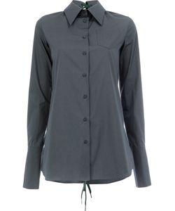 Yang Li | Lace-Up Back Shirt