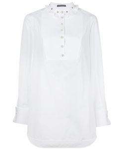Alexander McQueen | Ruffled Collar Blouse 46 Cotton