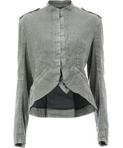 Haider Ackermann | Curved Hem Jacket