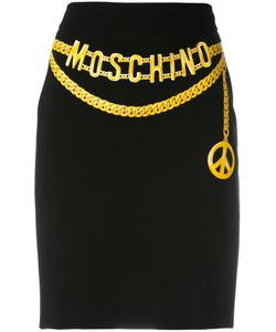 Moschino | Belt Illusion Skirt Size 40