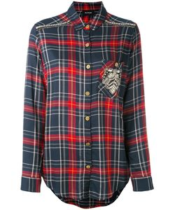 The Kooples | Embroidered Checked Shirt