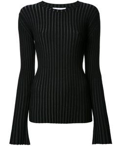 LE CIEL BLEU | Pleated Jumper 36 Polyester/Rayon