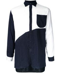 Factotum | Contrast Shirt 46 Cotton
