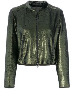 Luisa Cerano | Sequinned Bomber Jacket