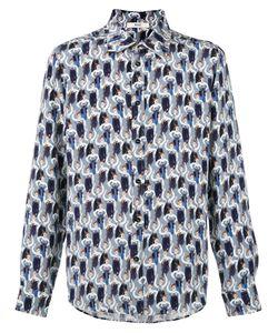 Bally   Allover Shoes Print Shirt