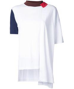 ENFÖLD | Enföld Contrast Design T-Shirt 38 Cotton