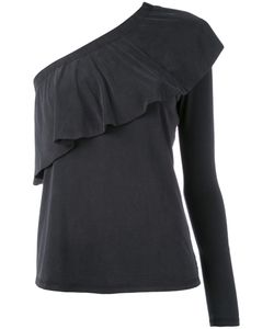 Just Female | Single Sleeve Ruffled Blouse
