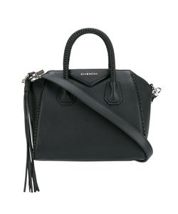 Givenchy | Medium Braid-Trimmed Antigona Bag Calf Leather