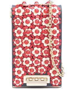 Zac Zac Posen | Flower Embellished Crossbody Bag