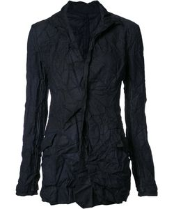 Yohji Yamamoto | Creased Fitted Jacket Size 1