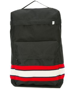 FACETASM   Striped Panel Backpack One