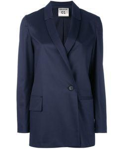 Erika Cavallini | Asymmetric Front Blazer 40 Polyester/Viscose/Spandex/Elastane
