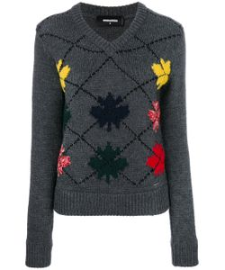 Dsquared2 | Embroidered Sweater