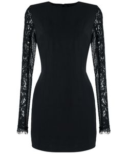 Andrea Bogosian | Lace Sleeves Fitted Dress Size Medium