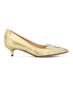 Charlotte Olympia | Embellished Pumps 37 Leather/Pvc/Plastic/Leather