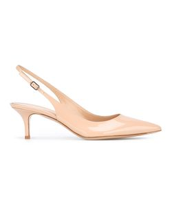 Gianvito Rossi | Low Heel Pumps 38 Leather/Patent Leather