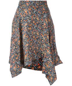 Isabel Marant | Asymmetric Print Skirt Size 36