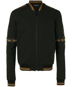 Dolce & Gabbana | Iconic Banded Bomber Jacket