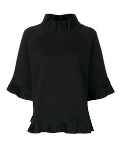 MM6 by Maison Margiela | Pleated Detail Sweatshirt