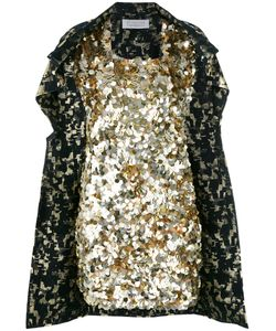 Gianluca Capannolo | Sequined Cape Dress Size