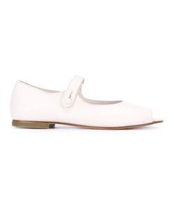 DANIELA GREGIS | Open-Toe Mary Jane Sandals Size 40 Calf