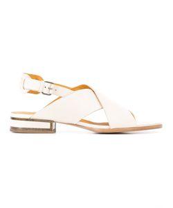 Veronique Branquinho | Cross Strap Sandals
