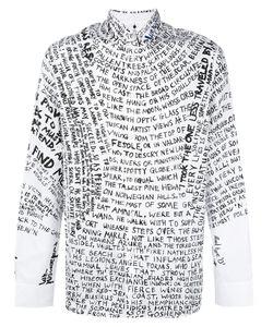OAMC | Scribble Print Shirt M