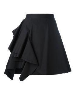 MSGM | Ruffle-Detail Skirt Size 42 Cotton