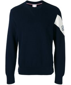 Moncler Gamme Bleu | Logo Patch Knitted Sweater Xl