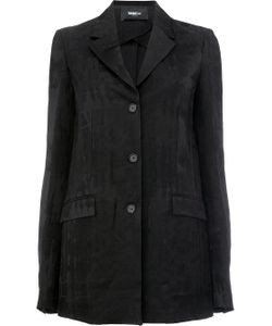 Yang Li   Textured Oversize Blazer