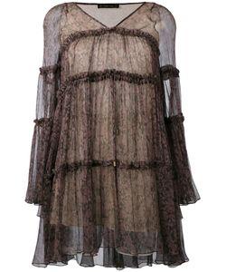 Plein Sud   Короткое Расклешенное Платье