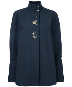 Ellery | Studded Buttons Shirt 8 Cotton/Nylon