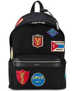Saint Laurent | City Patch Embellished Backpack