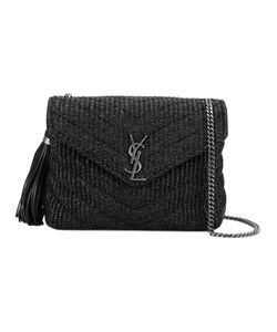 Saint Laurent | Monogramme Woven Shoulder Bag Calf