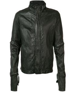 Barbara I Gongini | Zip Detail Jacket Cotton/Sheep