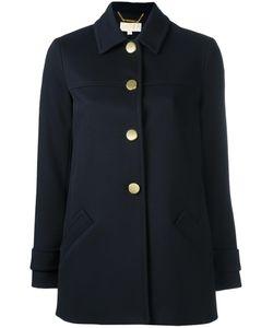 Michael Michael Kors | Button Coat Xs Polyester/Spandex/Elastane/Viscose