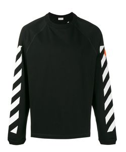 Moncler x Off-White | Long Sleeve Stripe Sweatshirt