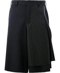 COMME DES GARCONS HOMME PLUS | Comme Des Garçons Homme Plus Zip Detail Layered Shorts Size
