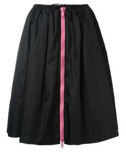 Prada | Zipped Full Skirt Size 40