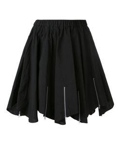 Julien David | Pleated Skirt Small Cotton