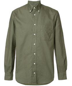 Gitman Vintage | Button Down Collar Shirt Large Cotton