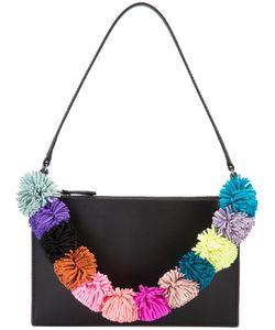 Loeffler Randall | Pompom Strap Shoulder Bag