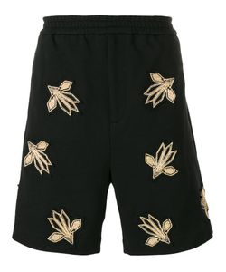 Les Hommes | Embroidered Track Shorts