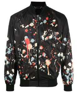 Philipp Plein | Paint Splatter Print Bomber Jacket Small